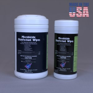 Microbicide Disinfectant Wipes