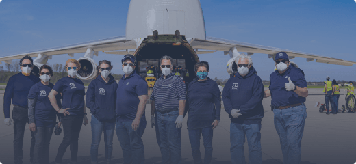 Bringing millions of PPE items to Ohio